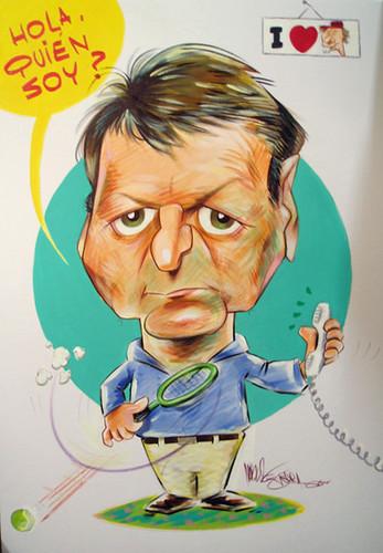 www.marceloguerra.com.ar / CARICATURAS PARA FIRMAR / caricaturas en fiestas