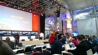 LeWeb 08 | by the waving cat
