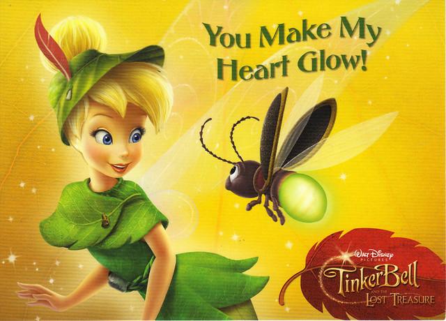 TinkerBell Lost Treasure Card