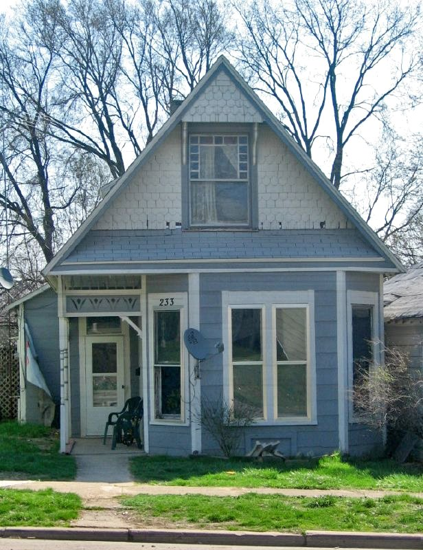 Small Victorian House With Big Gable Jefferson St Knigh Flickr