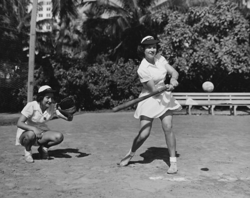 WAVES playing softball 30 July 1944 | by army.arch