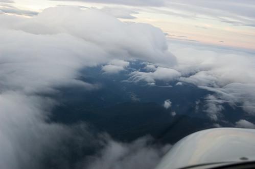 sunset clouds airplane flying nikon diamond crosscountry 1855 imc ifr da20 d40