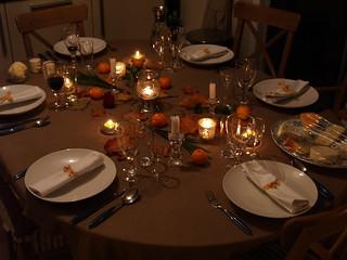 Autumn table decoration   by Elin B