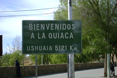 Ushuaia is only 5121 Kilometers (3175 miles) from our crossing at the Argentine Border