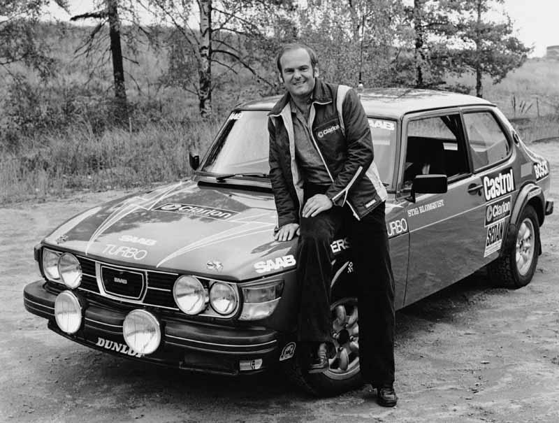 SAAB 99 turbo rally_ Stig Blomqvist_