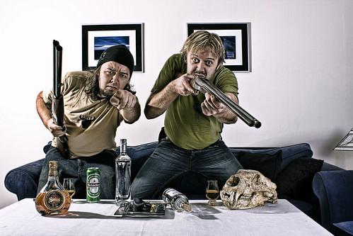 Hillbillie photoshoot gone bad...   by Geir Akselsen