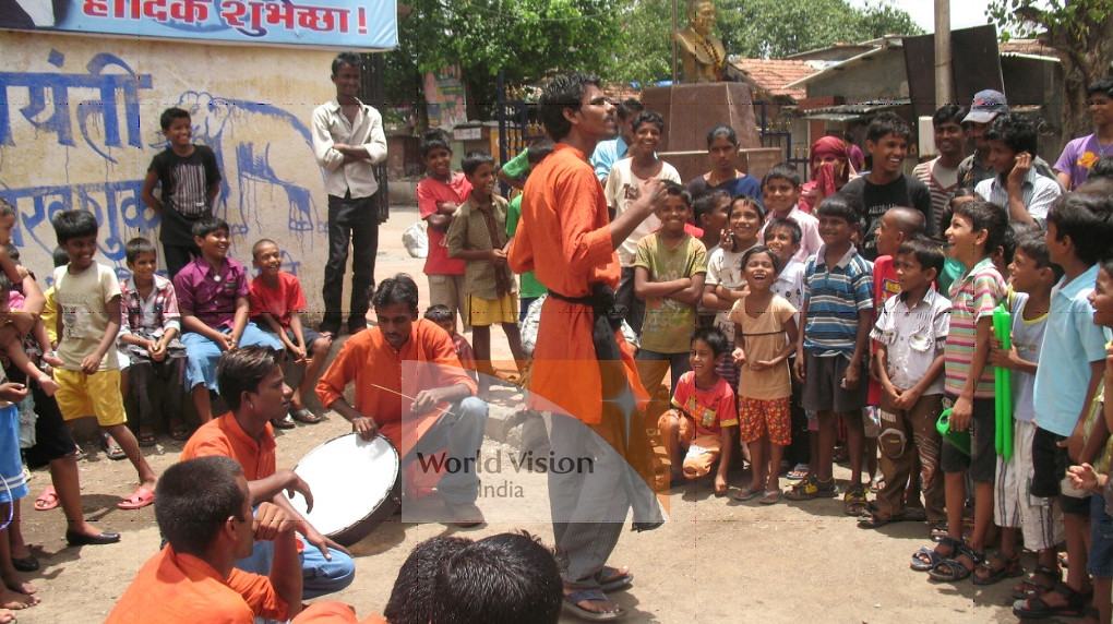 Mumbai Street Children Project celebrated World Day Agains ...