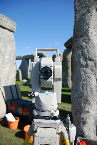 Survey at Stonehenge   by paul cripps