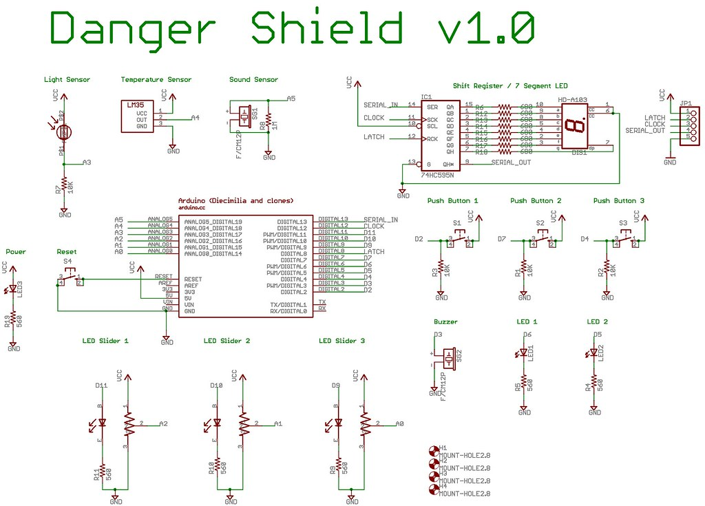 Danger Shield Schematic