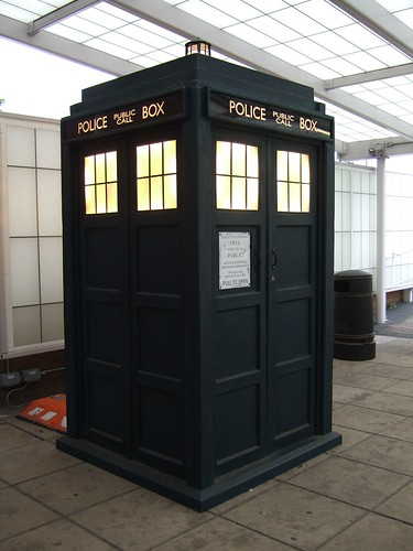 Doctor Who's Tardis under glass | by Ben Sutherland