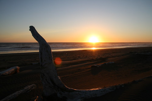 sunset beach washington sand pacificocean westport grayland