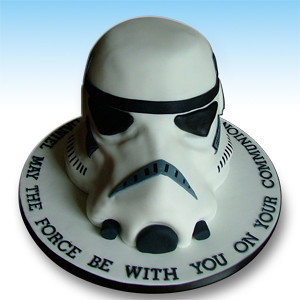 Strange Stormtrooper Birthday Cake For The Starwars Fans Flickr Personalised Birthday Cards Paralily Jamesorg