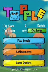 iPhone App: Topple | by Daynah.net