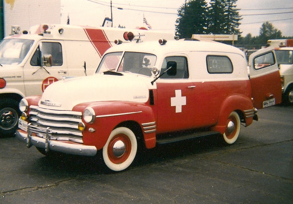 1950 Chevrolet 3100 Ambulance - a photo on Flickriver