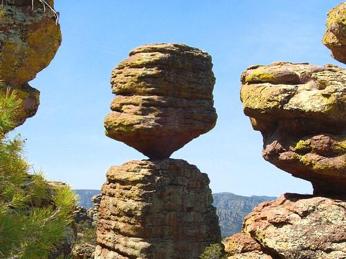 The Big Balanced Rock at Chiricahua   by Tina A Thompson