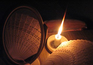 Candle Fan and a mirror | by sunayana_madhuri