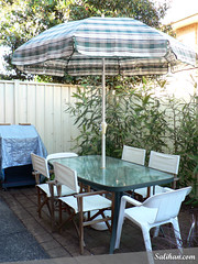 Outdoor Table & Umbrella | by :Salihan