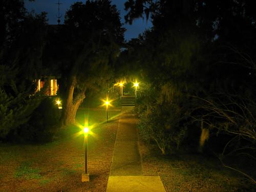 trees church night canon lights is walk powershot hdr s5 mepkin s5is