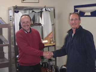 Jeff Coffin winner of the 2010 Brass Monkey Regatta | by PLSC (Panmure Lagoon Sailing Club)