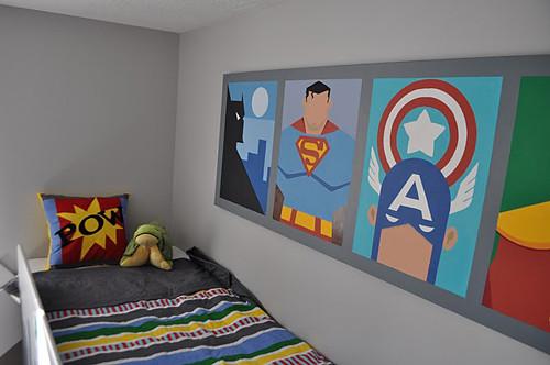 Decoracion cuarto niño super heroe II | JN Decoracion | Flickr