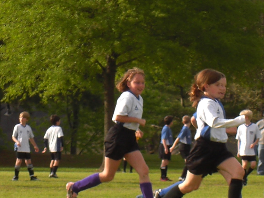 Running for it