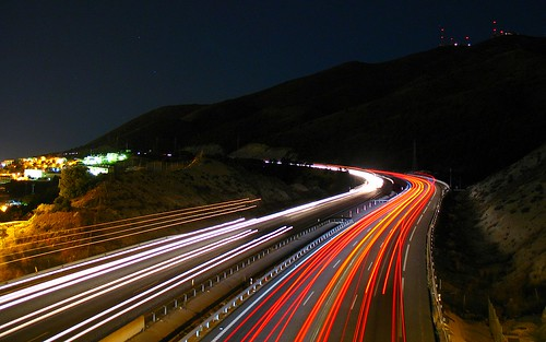 Freeway at Night | by BY-YOUR-⌘