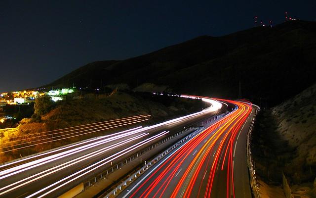 Freeway at Night