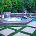 "Pasco County Florida home with beautiful spa addition, custom rockscape, and pool fountains. Swim Smart Pools and Spas help you create a custom creation for your pool and backyard.  <a href=""http://www.swimsmartpoolsandspas.com/contact-us"" rel=""noreferrer nofollow"">www.swimsmartpoolsandspas.com/contact-us</a>"