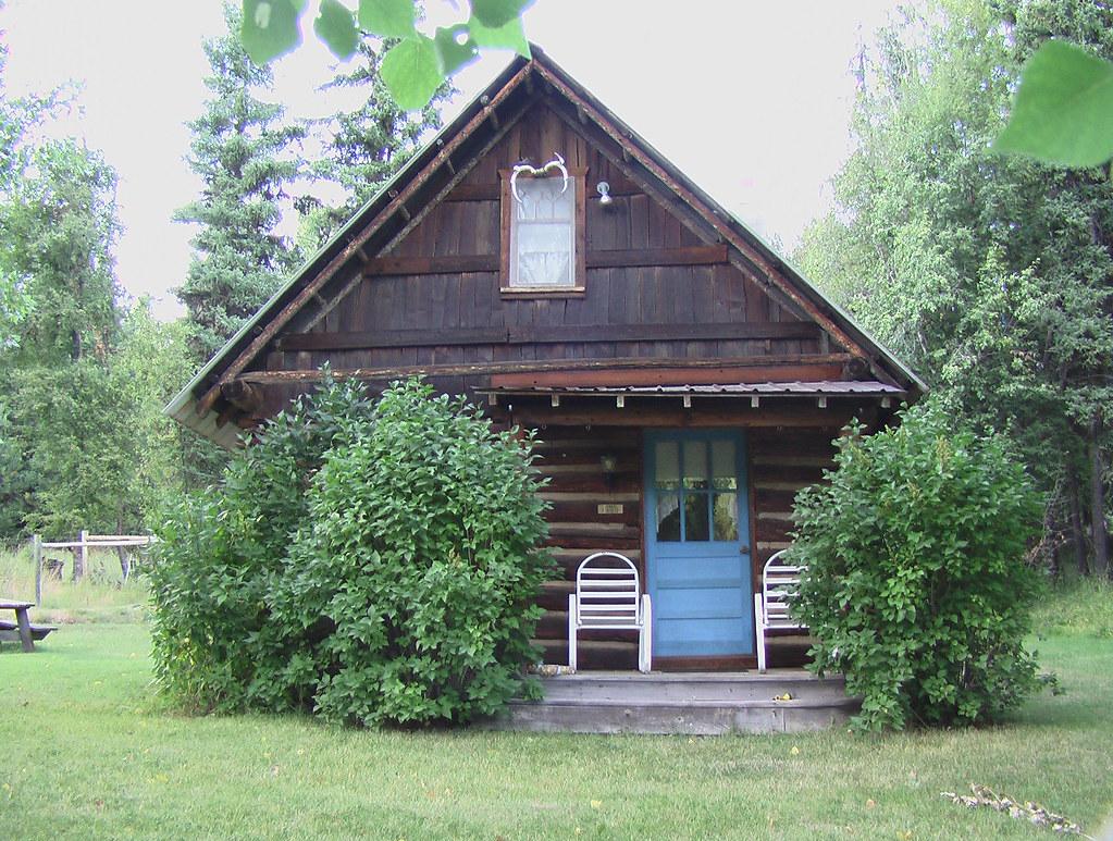 "Tiny Home Designs: The ""Blue Door"" Cabin, Built 1900"