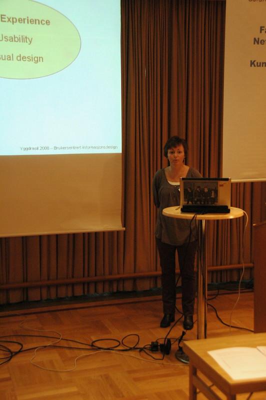 Torunn Brandt: Brukersentrert informasjonsdesign