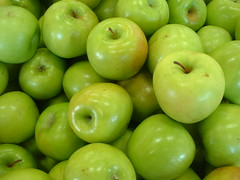 "Some ""Granny Smith"" apples   by Deborah Fitchett"