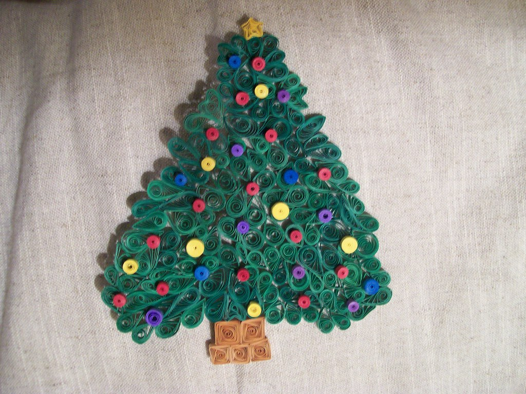 Paper Quilling Christmas Tree Dizzy Gaither Flickr