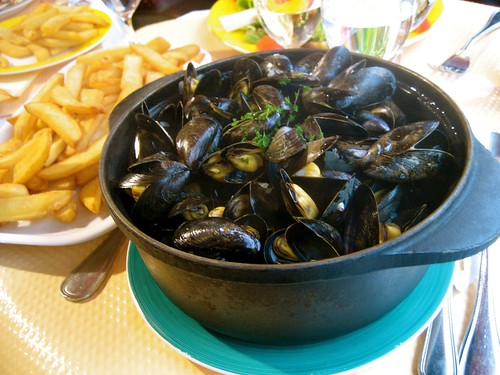 Moules Frites at l'Atlas | by bhamsandwich