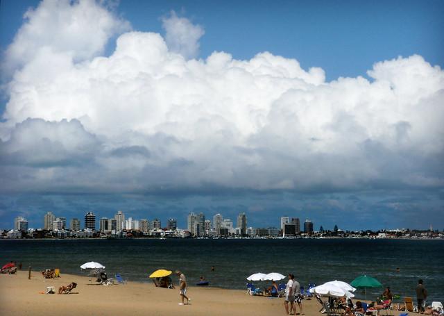 Cumulus over Punta
