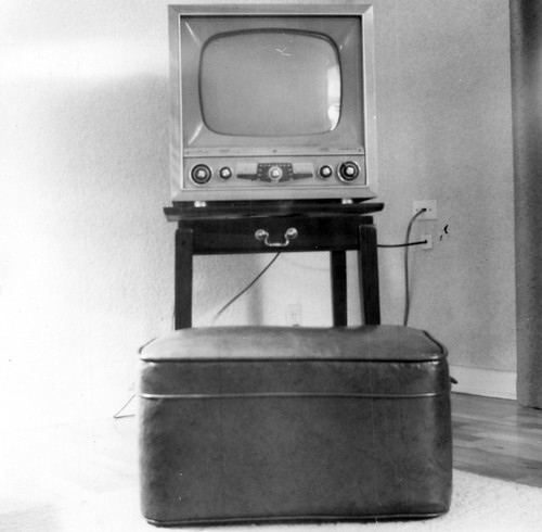 Early 1950s Television Set   by gbaku