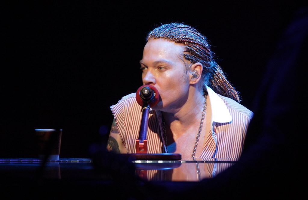 Axl Rose at Piano | Guns N'Roses, KROQ Inland Invasion 2006