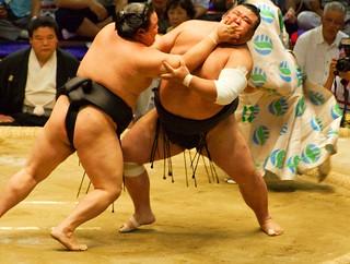 Sumo match 本場所 Nagoya Japan 2008 | by hitthatswitch