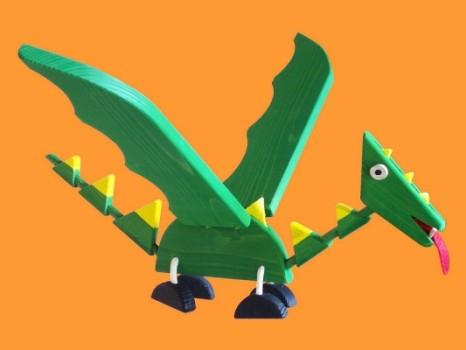 Flying Dragon Wooden Mobile Toy Derek The Flying Dragon Is Flickr