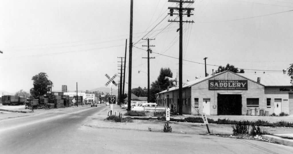 Newport Ave , Tustin, circa 1965 | There are no known copyri