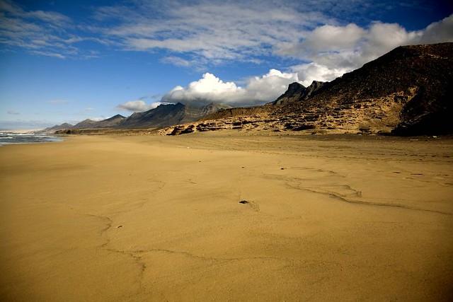 Playa de Cofete, Fuerteventura, Islas Canarias (España)