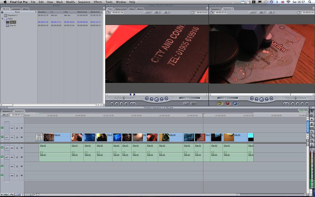 Editing AVCHD Video