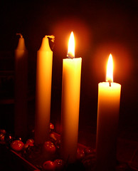 Second sunday in Advent and two candles are lit | by Per Ola Wiberg ~ Powi