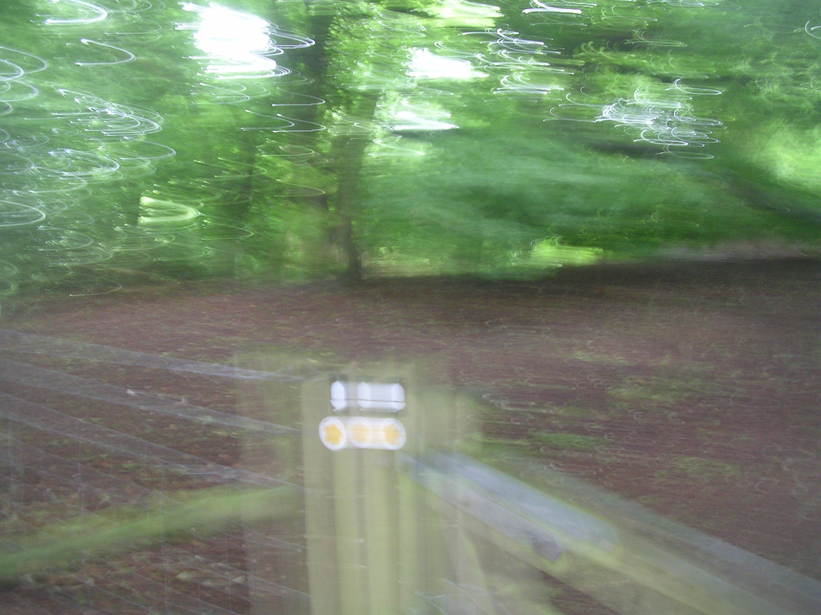 Blimey! This takes me back....... Happy camera accident, Saunderton circular via Bledlow