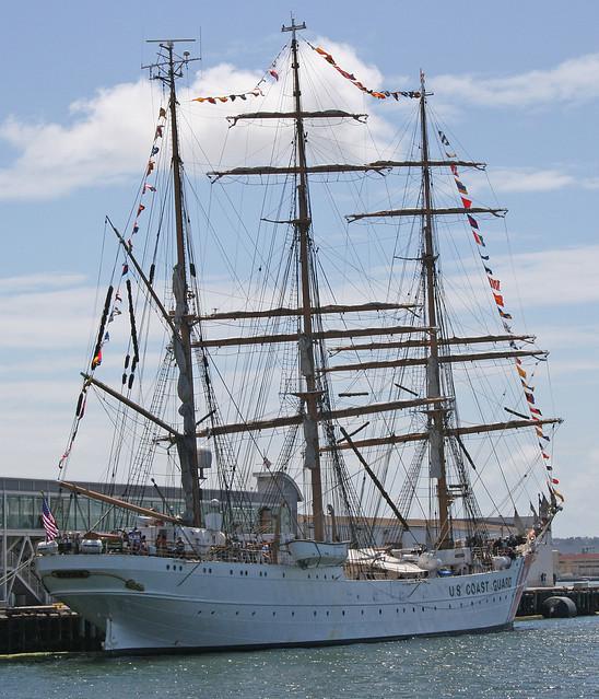 Coast Guard training vessel - Eagle