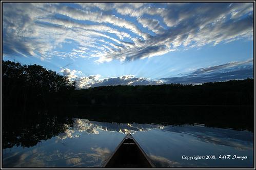 blue sky usa lake nature water minnesota clouds landscape outdoors scenery nikond70 canoe rochester chester paddling chesterlake outstandingshots olmstedcounty abigfave mackeralclouds diamondclassphotographer flickrdiamond chesterwoodscountypark
