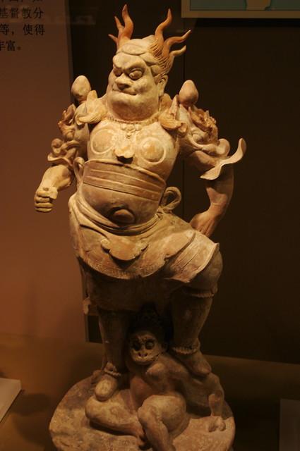 Mythical scene in terracotta - Xi'an, China, 2008.