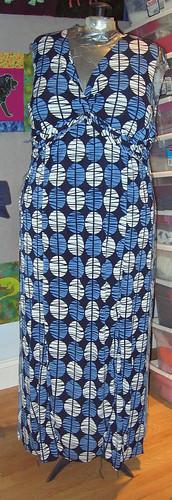 Burda Plus Twist Top Dress