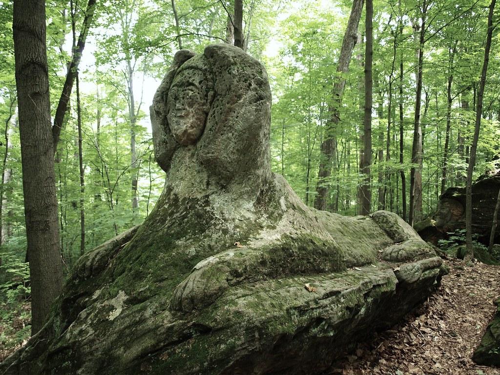 Hinckley oh stone carving sphinx stone sphinx in hincklu flickr