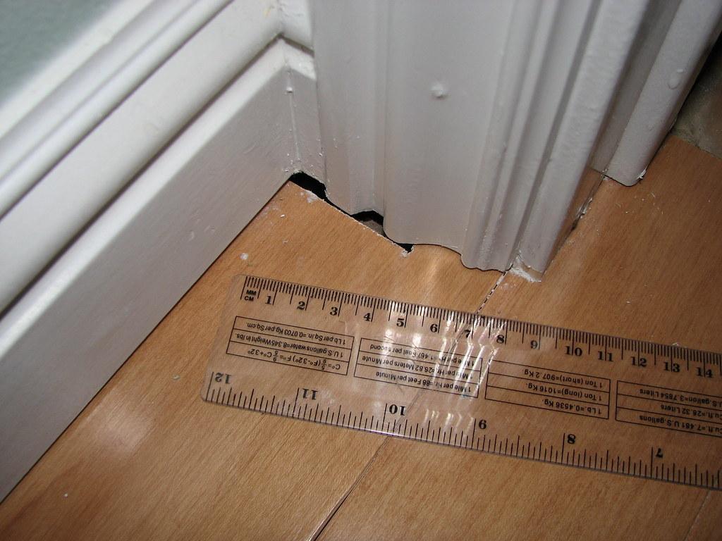 Home Remodel Sept 19 2008 Floorboard Gaps Not Filled Bef Flickr