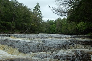 UP #59: Rapids, Presque Isle River, Porcupine Mountain Wilderness State Park | by Rob Bellinger